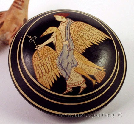 red figure pyxis aphrodite